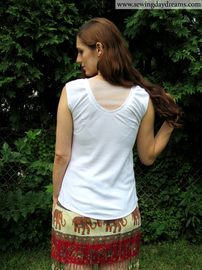 sewing daydreams lacey summer tee