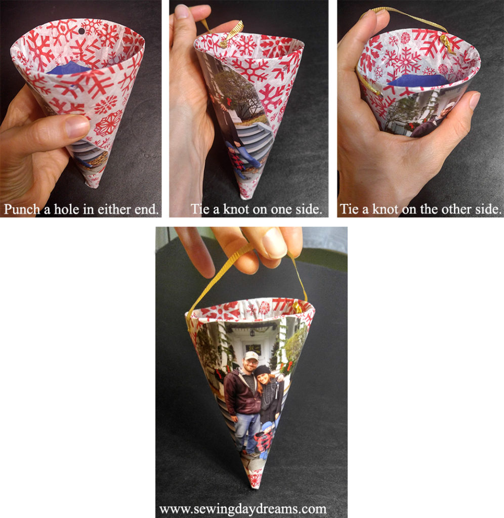 Christmas Cones Tutorial