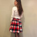 Classy Plaid Gathered Skirt Tutorial