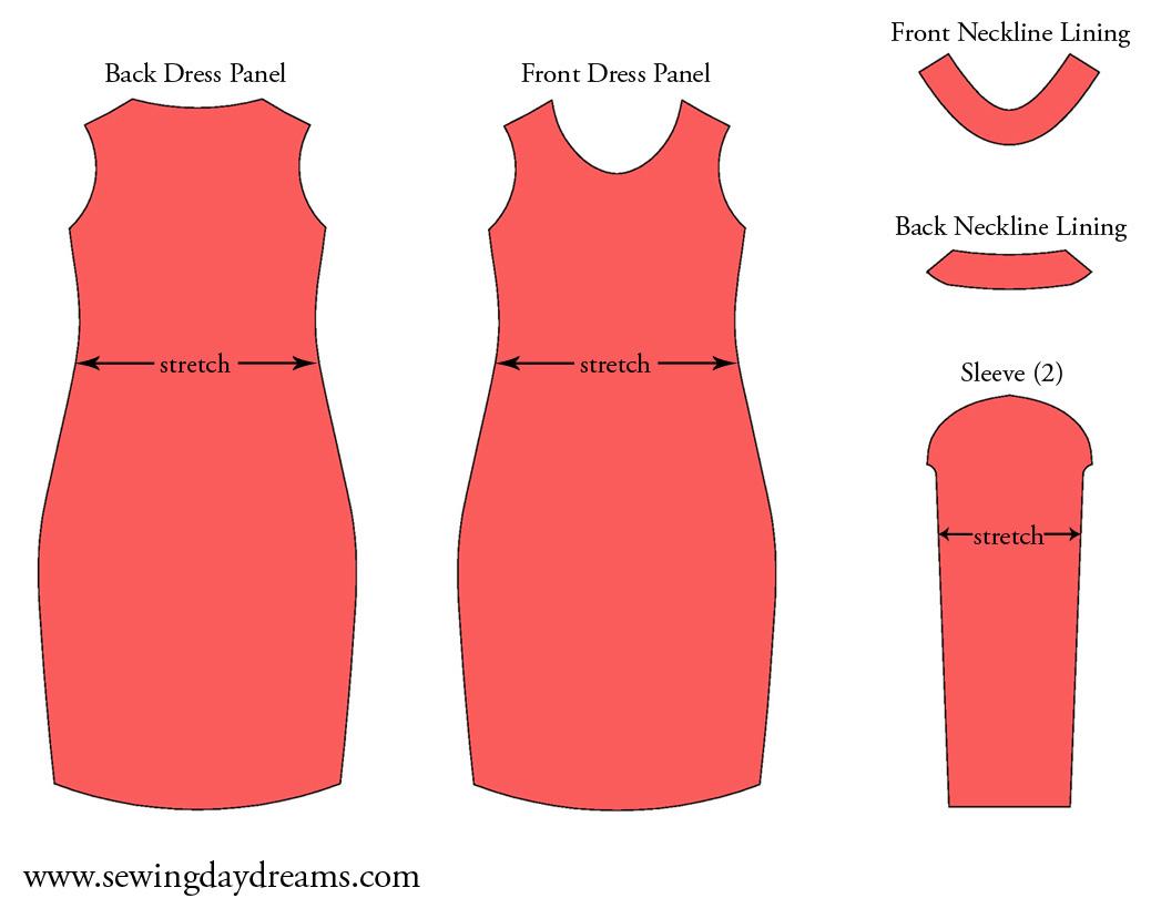 diy the long sleeve sheath dress tutorial sewing daydreams