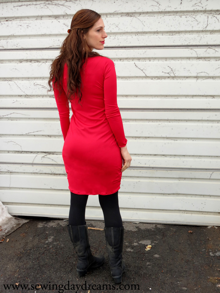 long sleeve sheath dress tutorial
