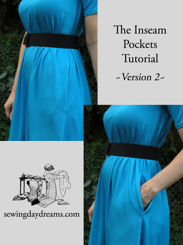 inseam pockets tutorial