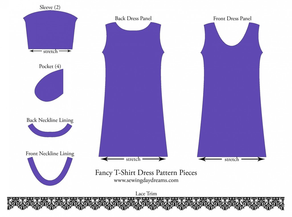 DIY - The Fancy T-Shirt Dress Tutorial | Sewing Daydreams