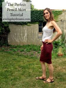 Pencil Skirt Tutorial