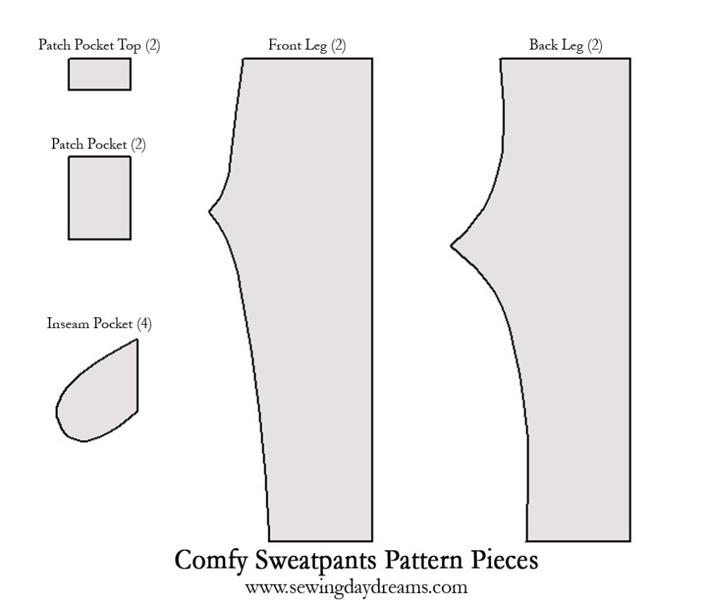 comfy sweatpants tutorial pattern