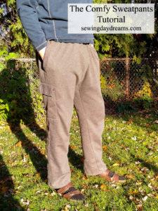 comfy sweatpants tutorial