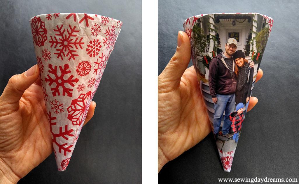Christmas Cones Tutorial