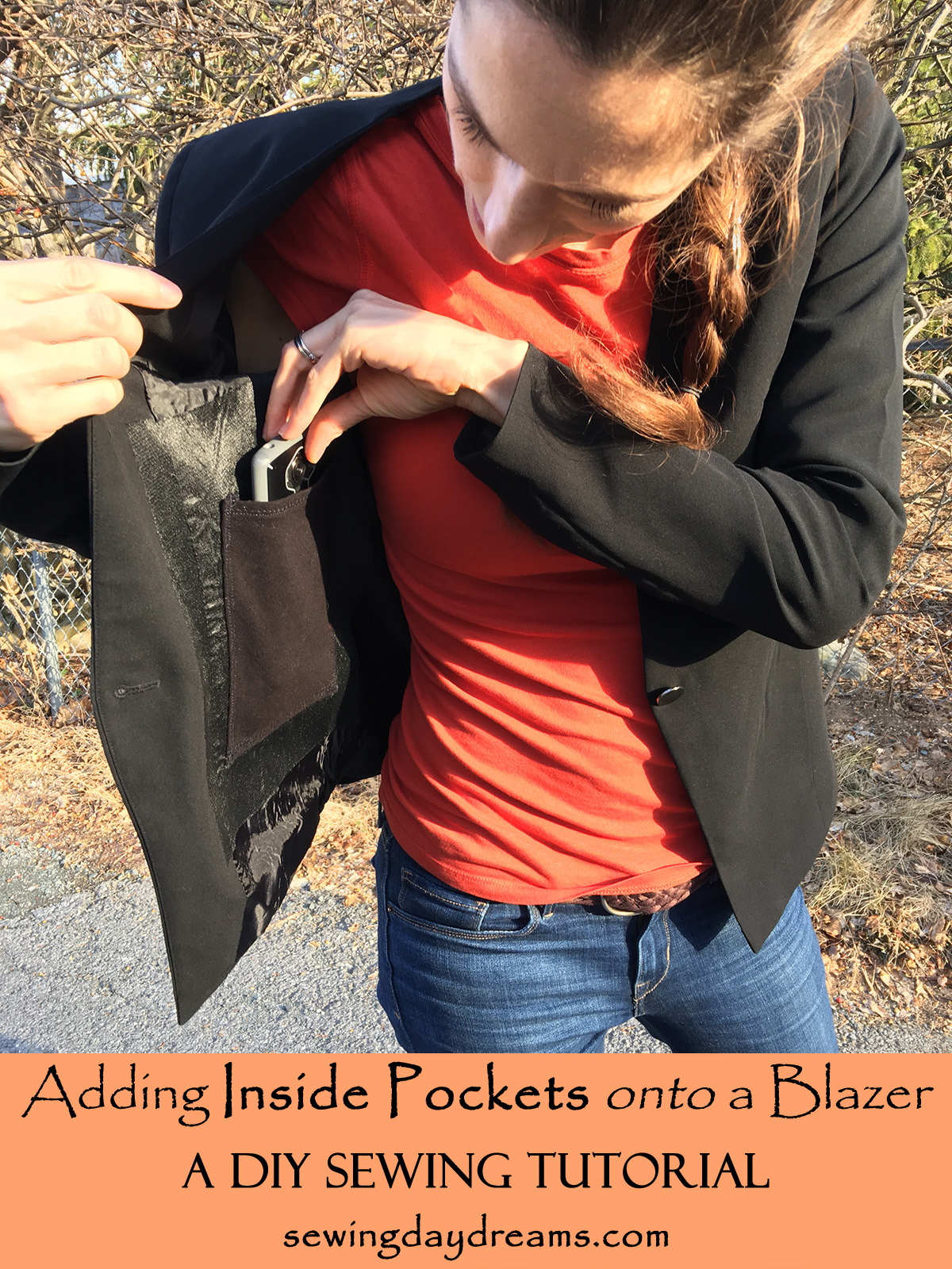 How to Add Inside Pockets to a Denim Jacket