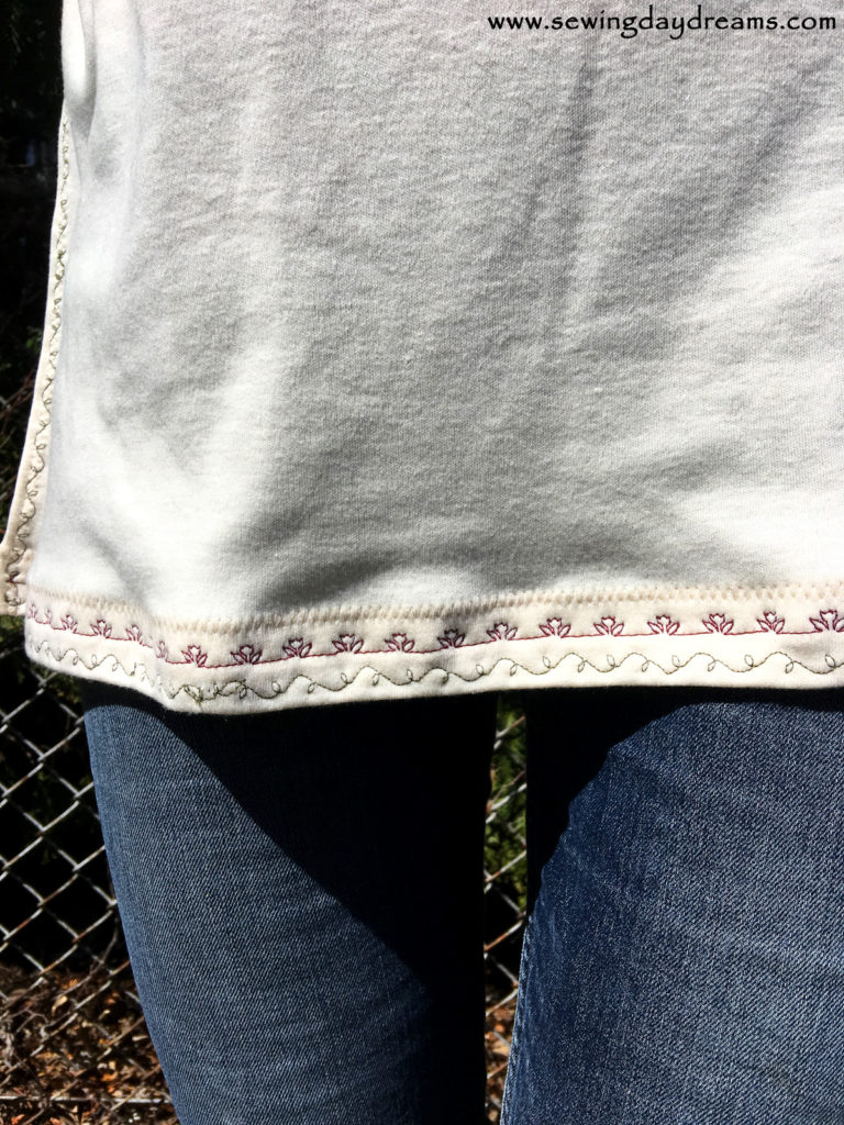 Embroidered Tunic Tutorial