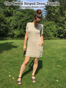 The French Striped Dress Tutorial by Sewing Daydreams